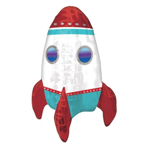 ROCKET SHIP MULTI BALLOON